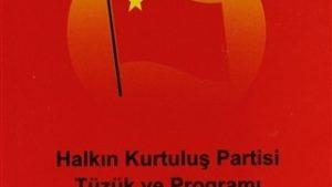 Halkın Kurtuluş Partisi Programı