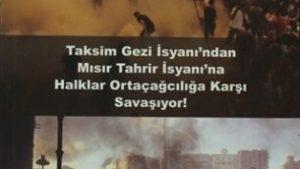 Taksim Gezi İsyanı'ndan Mısır Tahrir İsyanı'na Halklar Ortaçağcılığa Karşı Savaşıyor