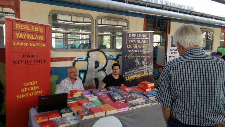 Derleniş Yayınları 9. Kadıköy Kitap Günleri'ndeydi